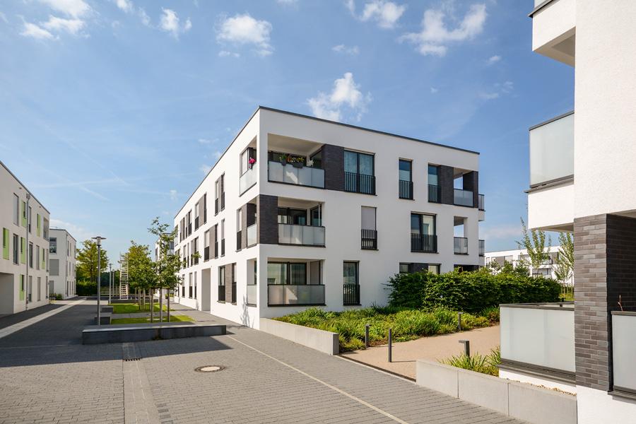 Neubau Wohnblock